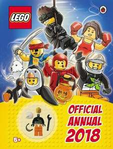 LEGO Official Annual 2018 @ Waterstones only 99p !! (Click & Collect only)