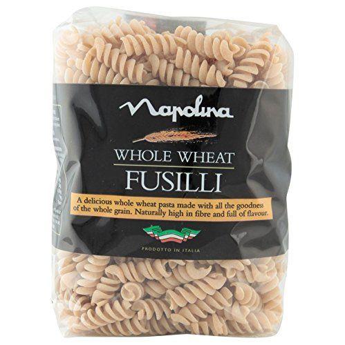 Napolina Whole Wheat Fusilli Pasta, 500 g, Pack of 6  £4.50 Add On Item / Minimum Spend £20 at amazon