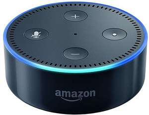 Amazon Echo Dot (2nd Generation) Black or White, A grade £40.00 + £1.50 delivery - 24 month warranty @ CEX