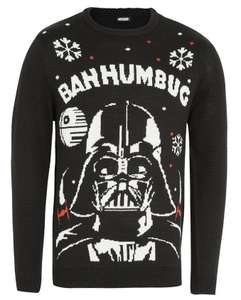 Light up Darth Vader Christmas Jumper, XS now down to £5 at Tesco