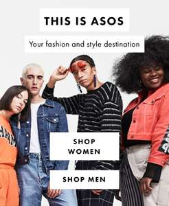 Free next day delivery on orders over £100 @ ASOS