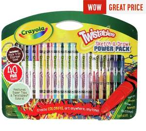 Crayola Twistables Sketch and Draw Set now £4.99 @ Argos