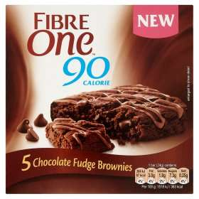 Fibre one chocolate brownie 5x24g - £1.25 at Asda