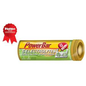 PowerBar 5 Electrolytes x 10 Tabs (50% Off) - £1.99 + £1.99 Delivery @ Wiggle