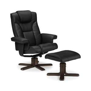Annandale Swivel Recliner and Footstool RRP £285.67 - £120.99 at wayfair.co.uk