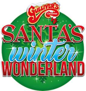 50% Off Selected Tickets w/code for Christmas 2018 @ Gullivers eg Entrance Tickets + Ride on Santa Express + Grotto Visit normally £19.95 A/C now £9.98 (more in OP inc meals & shows)