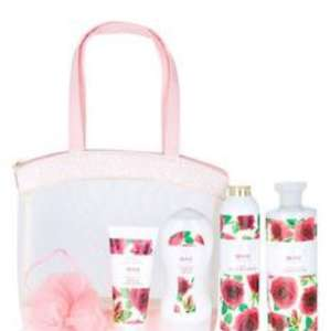 Rose Toiletry Bag & M&S Free C&C - £1.49