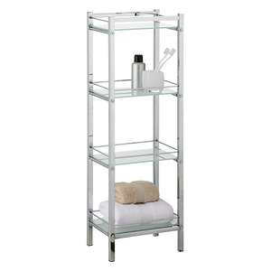 John Lewis 4 Tier Bathroom Shelf Unit was £40 - then £20 - now £12 @ John Lewis (£2 c+c)