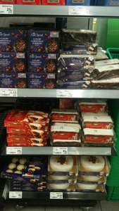 ASDA - Bordesley Green Birmingham Christmas cake reductions from 25p