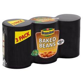 Branston Baked Beans 5 x 3 pack £3 or per tin 20p @ Asda