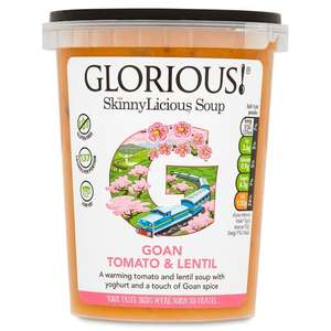 Glorious! Soups Varieties as stocked ONLY £1.00 @ Morrisons