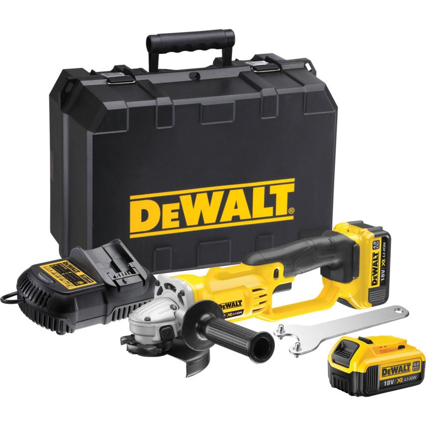 DeWALT DCG412M2 Angle Grinder 2-18v-4Ah Li-ion Batteries 125mm Disc £249.58 @ CPC Farnell