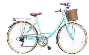 Reflex Heritage City Bikes with Basket With Free Delivery - Groupon From £134.99