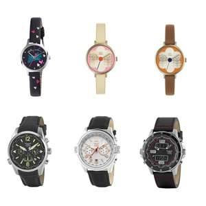 Radley & Orla Kiely Watches £29.98 / Aviator Men's Watches £29.98 each - with gift box @ Watches2U