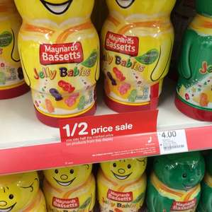Half price jelly babies and liquorice allsorts £2 @ Boots instore