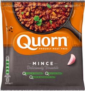 Quorn Meat Free Mince (500g) was £2.79 now £1.39 @ Tesco and Iceland