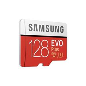 Samsung Memory Evo Plus 128 GB Micro SD Card with Adapter £44.49 @ Amazon