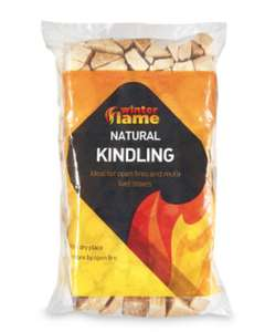 Kindling wood batons 3kg for £1.99 @ Aldi