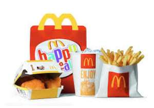 McDonald's happy meal toys can be purchased for 99p