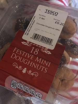 Festive Mini Doughnuts - £0.20 in Tesco (nationwide, whilst stocks last)