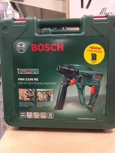 Bosch PBH2100 RE Hammer Drill reduced to £50 at Homebase
