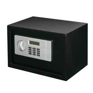 B&Q Various safes discounted. Some half price or less