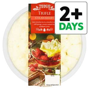 Tesco Strawberry Trifle £1.25 From Wednesday