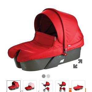 Stokke Xplory Red Carrycot Mothercare £50