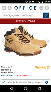 Timberland Splitrock 2 - £60 @ Office