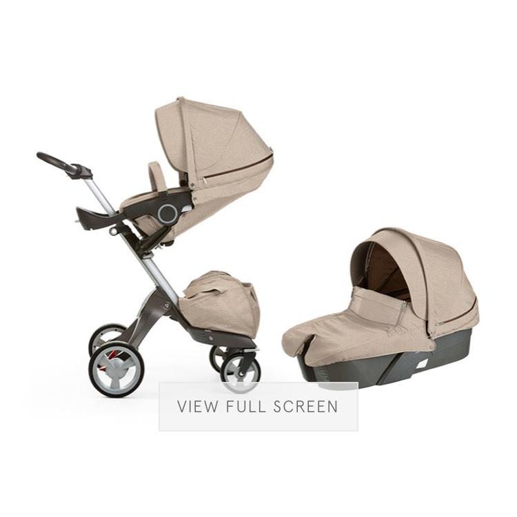 Stokke Xplory® V4 Complete Stroller in Beige Melange - £599 @ Harrods