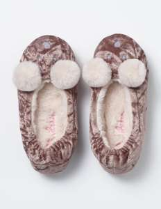 Cute Boden pom pom bear slippers £5.40 (reduced from £18) plus £4 p&p or try code 6T2C for free p&p