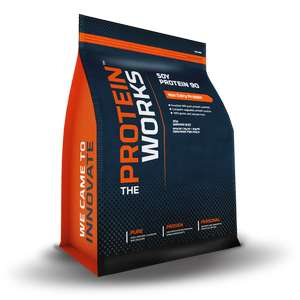 2kg Soy Vegan Protein 90 Isolate £13.69 (unflavoured) £17.26 (flavoured) Delivered Using Codes @ The Protein Works