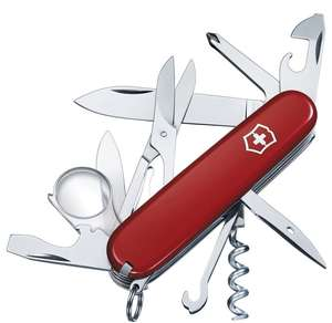 Victorinox Explorer Swiss Army Knife - Red £22 @ Amazon