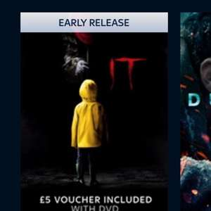 Buy IT (2017) HD digital with dvd @ sky store and get FREE £5 voucher