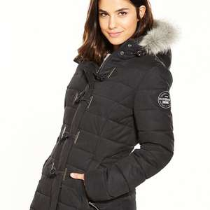 Superdry mf toggle coat was £105 now £58 @ Very
