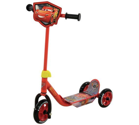 ARGOS - Disney Cars 3 Lightening McQueen Tri-Scooter (£12.99)