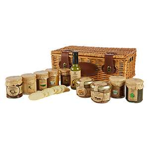 Chutney, pate and sauces hamper was £40 now £28 @ John Lewis