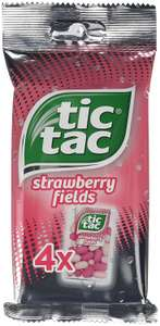 40 x 16g packs of Tic Tac Strawberry Fields £5.90 Prime £10.65 delivered @ amazon prime (works out 15p/pack)