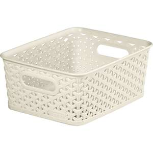 Curver Basket 8L was £2 now £1.50 (more products in OP) @Wilko - also Free Click & Collect