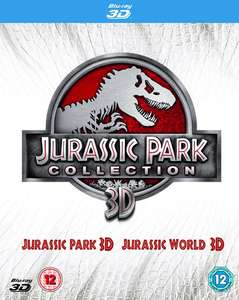 Jurassic Park/Jurassic World (3D Edition + Digital Copy - Double Play) [Blu-ray] @Zoom £8.99 via Signup10