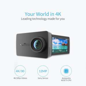 YI 4K Sports Action Camera £119.90 Sold by YI Official Store UK and Fulfilled by Amazon.