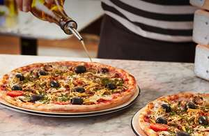 Two main courses for £10 at Pizza Express on 3 January 2018 only