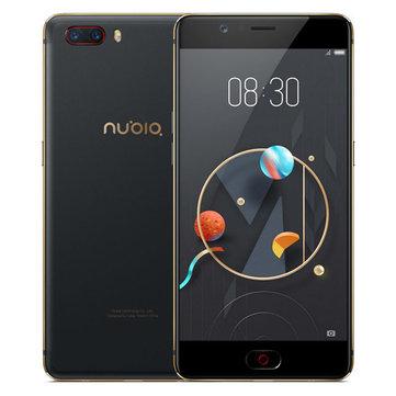 Nubia M2 Global Rom 5.5 inch 4GB RAM 64GB ROM Octa Core 4G - £120.80 Banggood