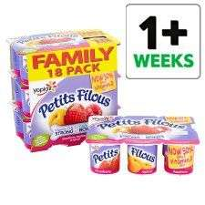18 x pots Petits Filous for £1.50 In store and online Tesco