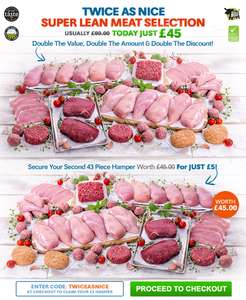 Cheap lean meat offer £50 from Muscle Food