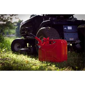 10L Steel Jerry Can - Red SKU: 123048  scans @ £7 instore at Homebase