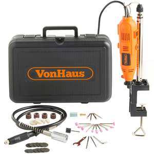VonHaus 135w Multi-Tool / Engraving Kit With 40pc Accessory Set £24.99 @ DOMU