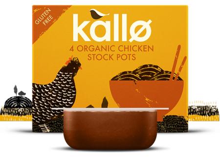 Kallo organic stock pots 4x24g - Claim 100% cashback @ Checkoutsmart