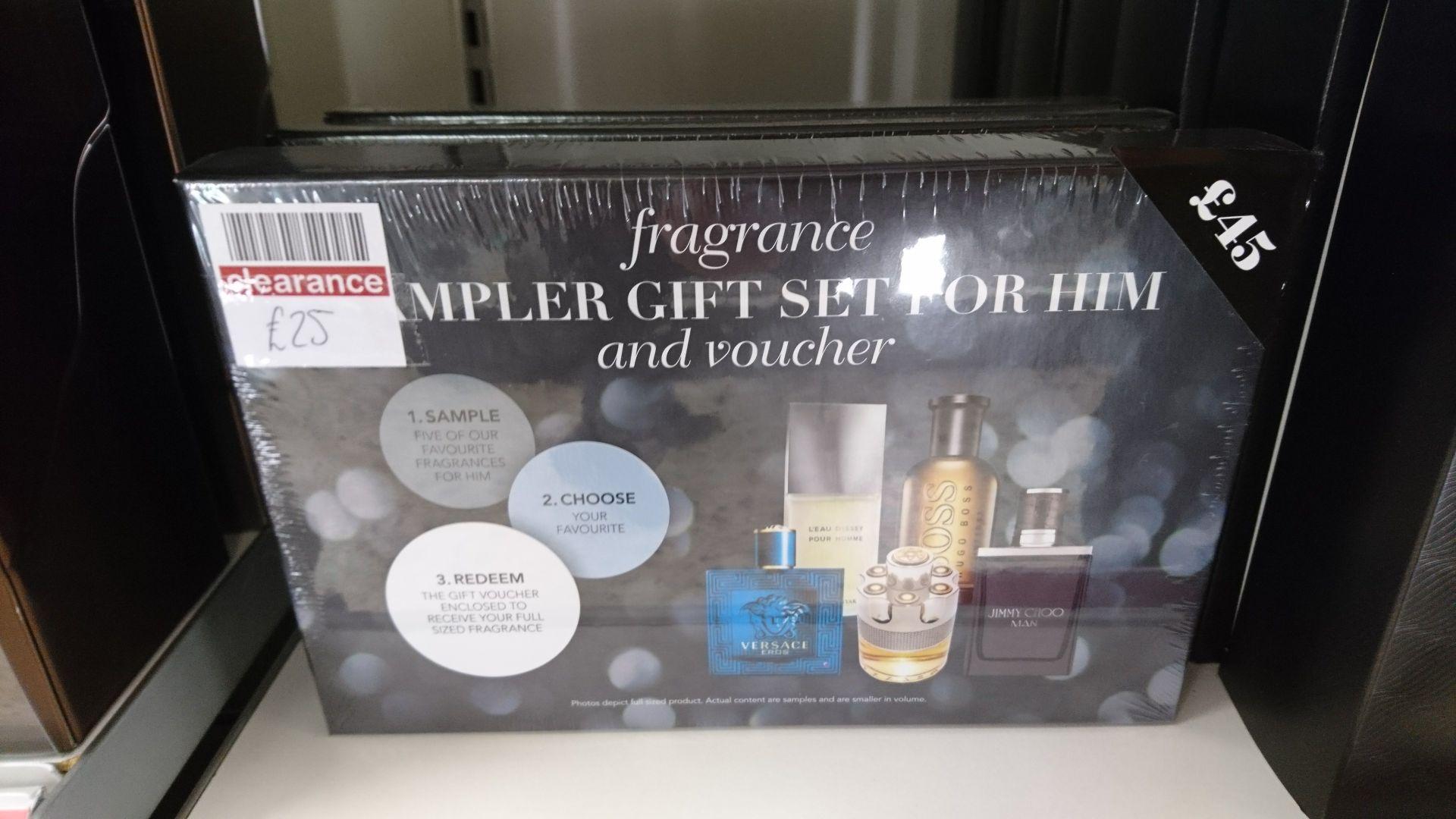 Fragrance sampler gift set, 5 samplers and a voucher for 50ml/75ml bottle - £25 at Boots instore