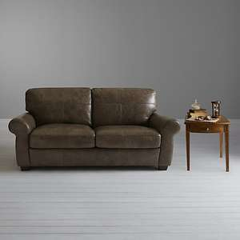 John Lewis Hampstead Large 3 Seater Leather Sofa £449